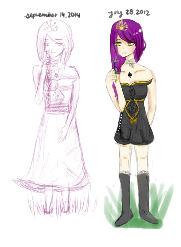 Sketch: Illyae by pandachooo