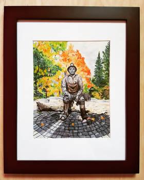 Miner's Monument - Elliot Lake, ON.