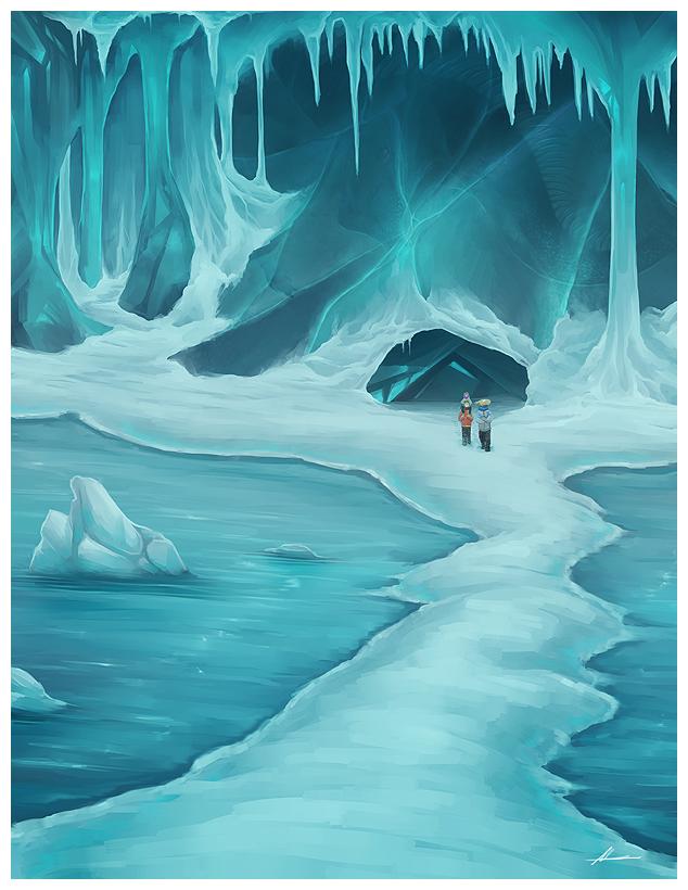 Concept 004: Glacier Route by Ladytrupp