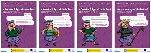 Ilustrations for gender equality campaing by yupiyeyo