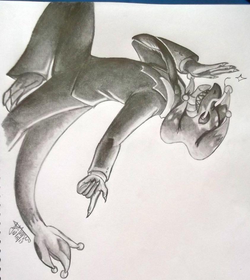 Harlequin Dragon by JoyAlma