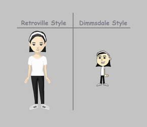Rina Poplin - Both Styles