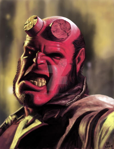 Hellboy by SupermanBatman