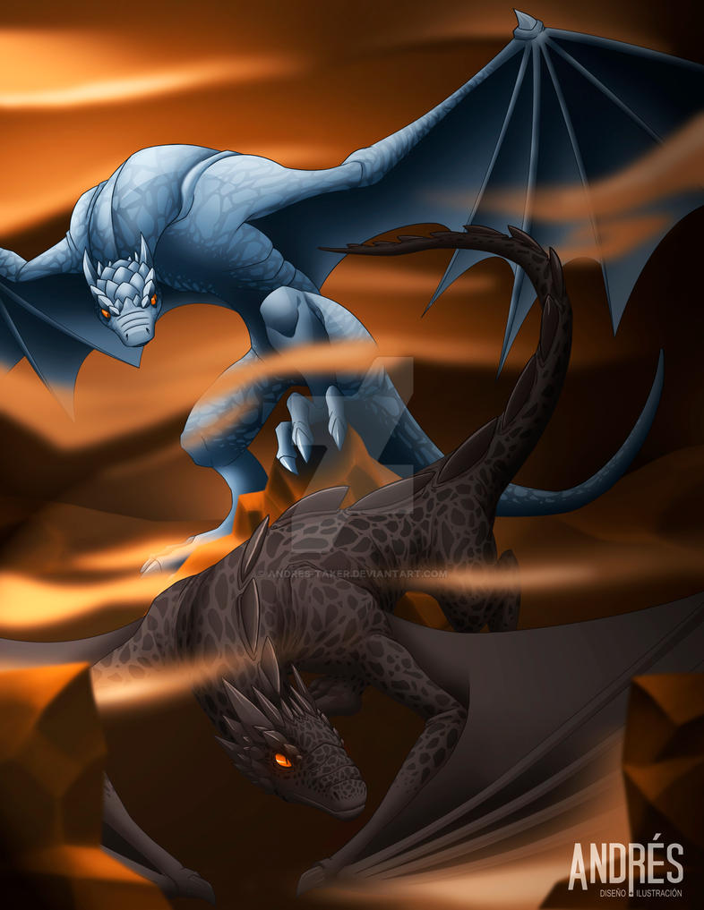 Dragons by Andres-Taker