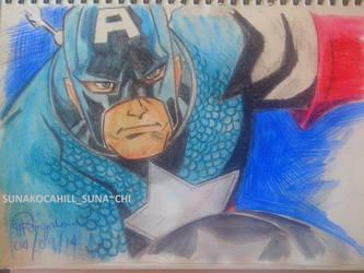 Captain America by JRockSunako