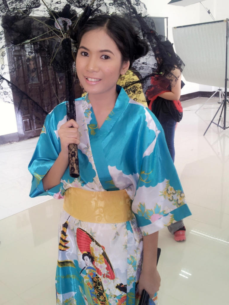 Me in a Kimono by JRockSunako