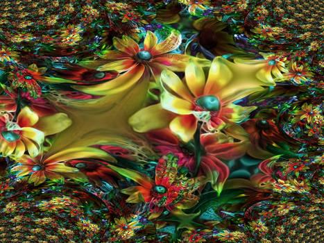 Pond Of Flowers