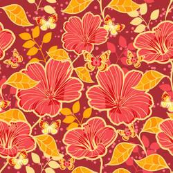 Floral Vector Pattern by Desenart