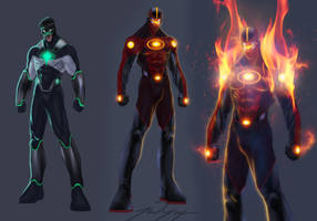 Zon Sets Fire to Titan City
