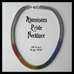Aluminum Pride Necklace