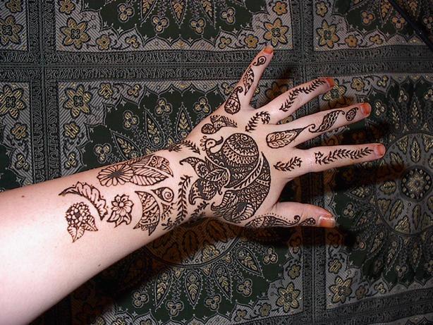 Indian Bridal Hand by crazedfangirl on deviantART