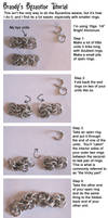 Chainmaile Byzantine Tutorial by crazed-fangirl
