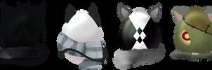 [5:6] Kemenomini Mystery Eggs[OPEN Set Price] by DakinAdopts