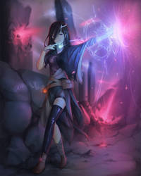 Arcane Light by Sasplayer