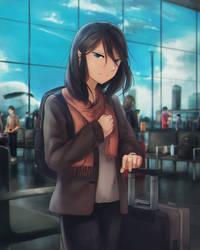 leaving by Sasplayer