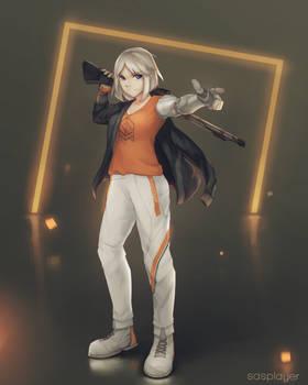 [C] - Definitely not a magical cybernetic girl