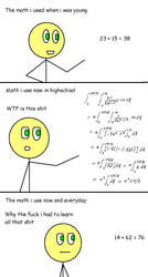 Me and math by TheAdamBryant