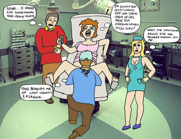 35. Giving Birth by Blank-mange on DeviantArt