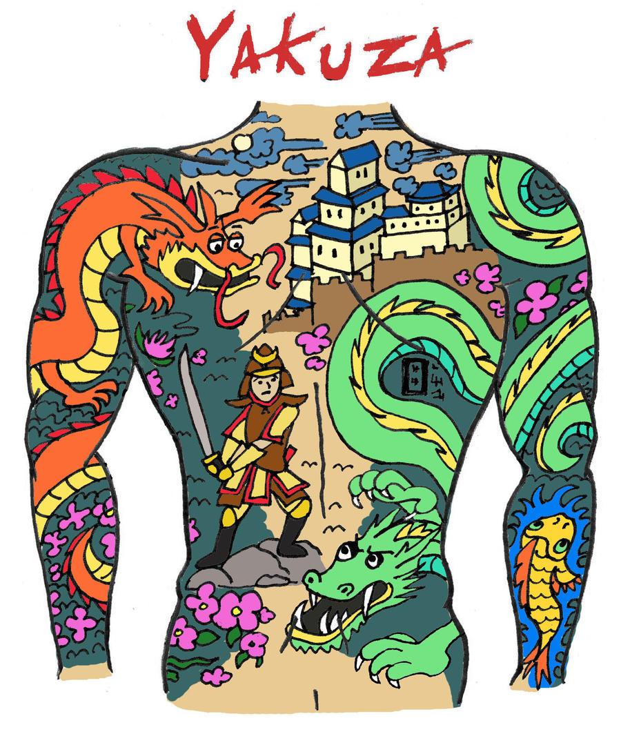 Tattoo Designs Yakuza: Yakuza Tattoo By Blank-mange On DeviantArt