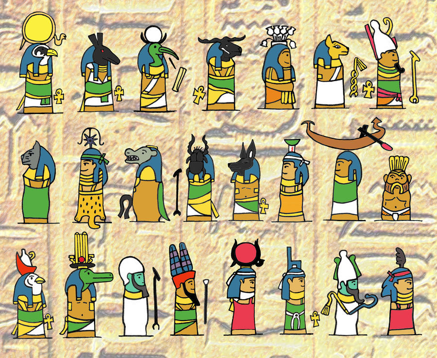 Ancient egyptian gods by blank mange on deviantart ancient egyptian gods by blank mange publicscrutiny Image collections