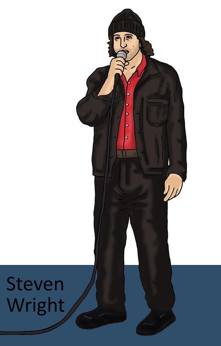 Steven Wright by Blank-mange