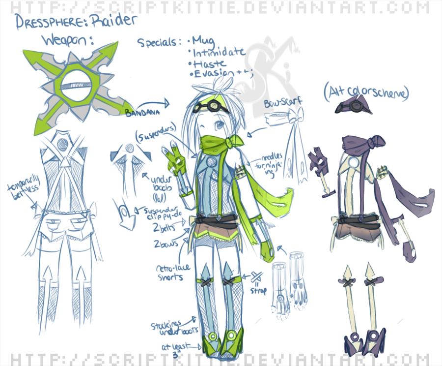 :Raider DresSphere: by scriptKittie