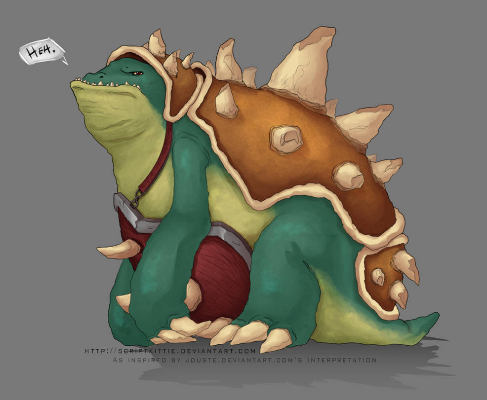 League of Legends: Rammus by scriptKittie on DeviantArt