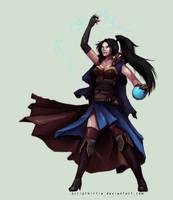 Diablo 3: Wizard by scriptKittie