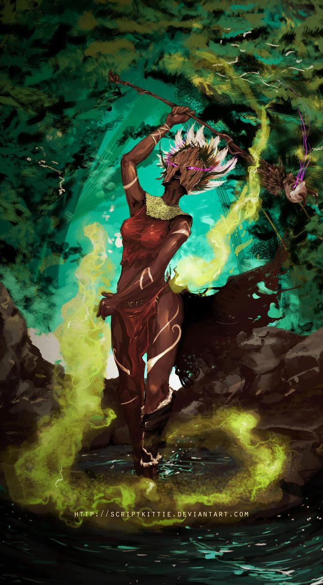 Diablo 3: Witch Doctor by scriptKittie