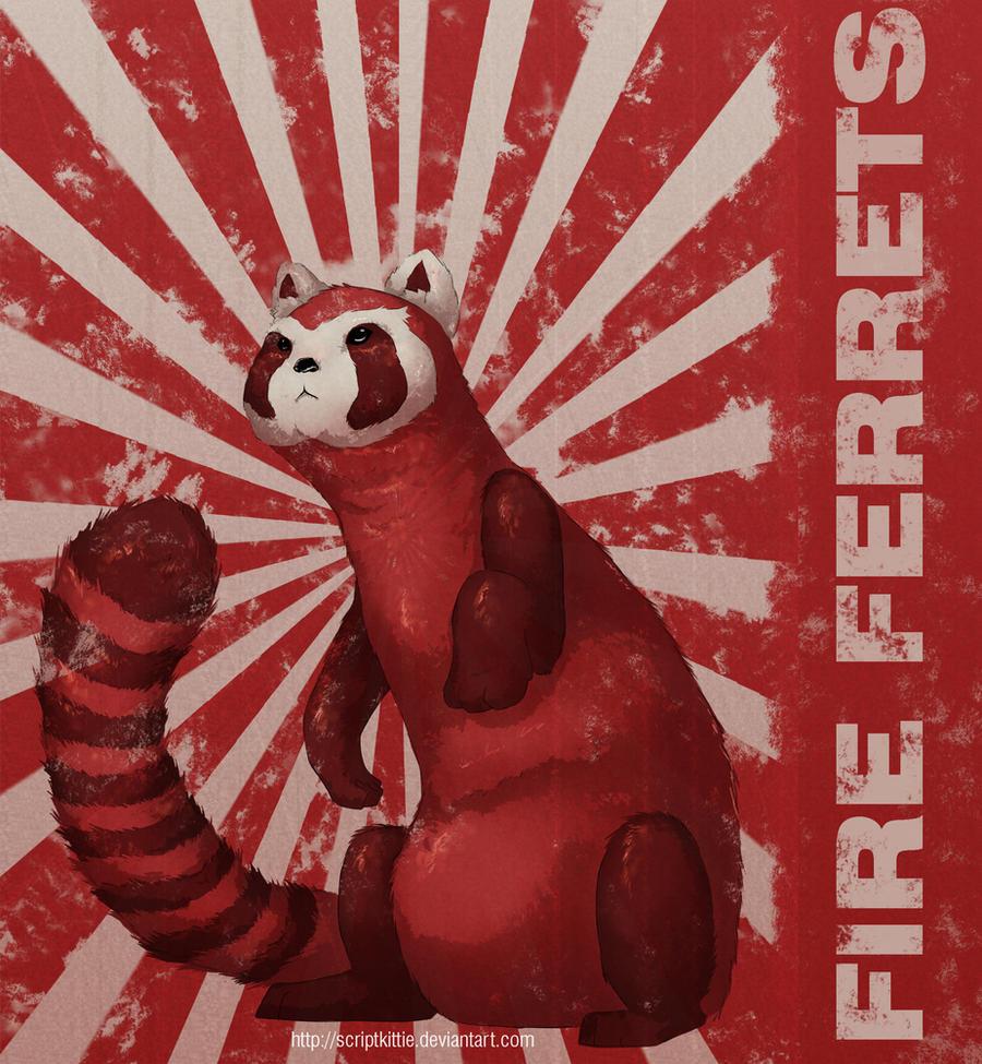 Korra: FireFerrets by scriptKittie