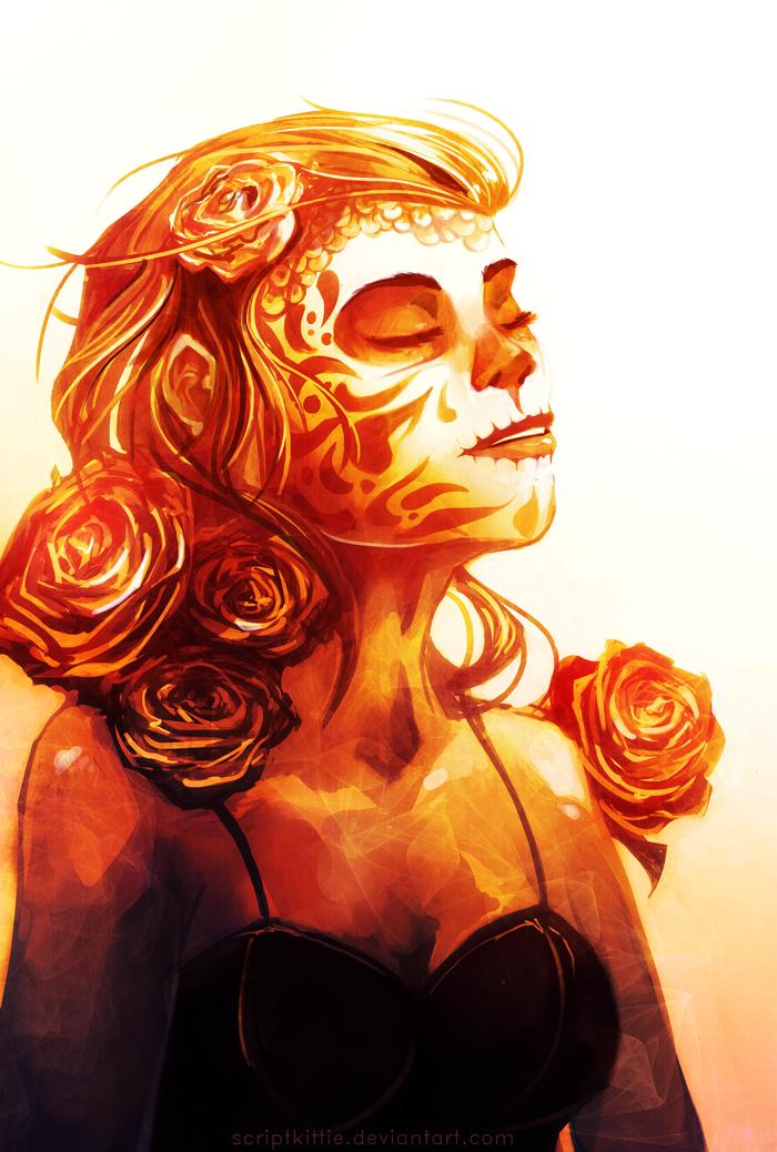 Dia De Los Muertos by scriptKittie
