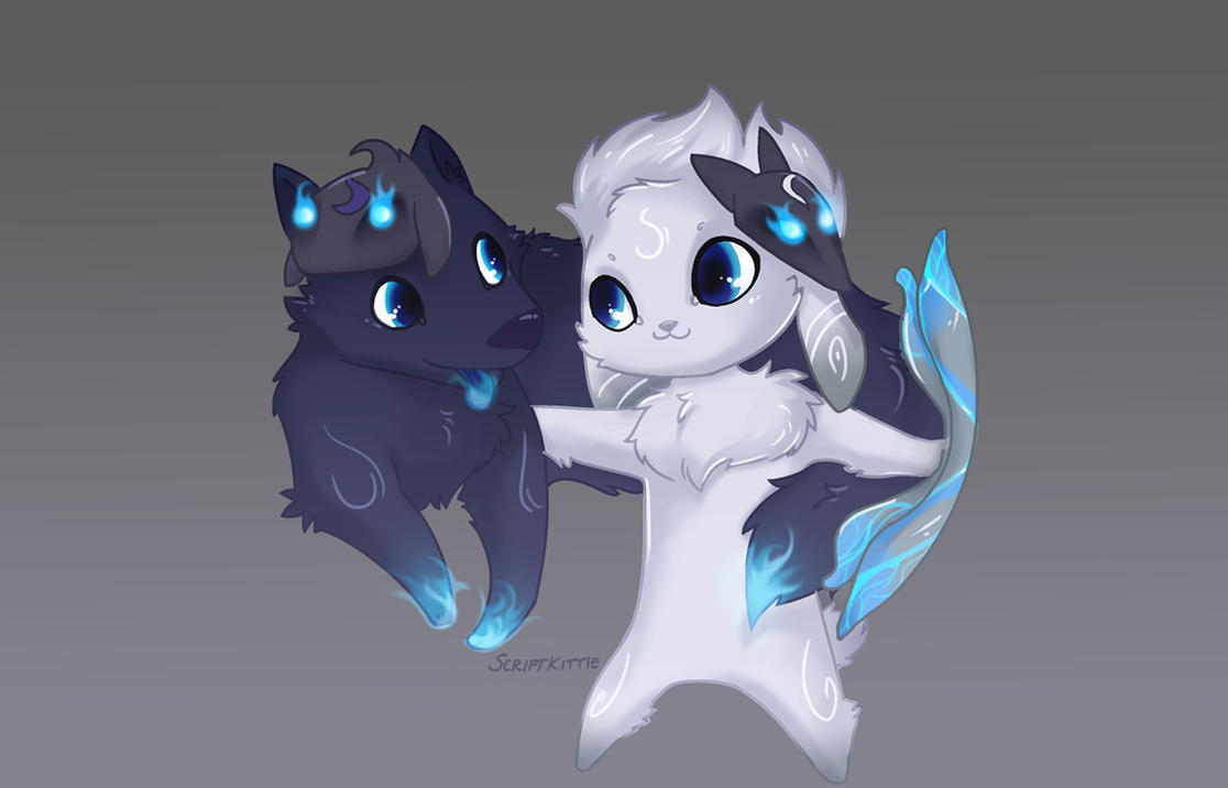 LoL Kindred by scriptKittie