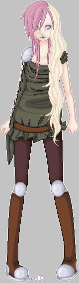 Elf Warrior: Nimura. by anti-social-DEMON