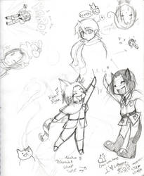 SUPER AWESOME SKETCH DUMP by Lantra