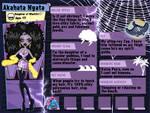 MH Profile: Akahata Ngata by SailorGlitterfairy