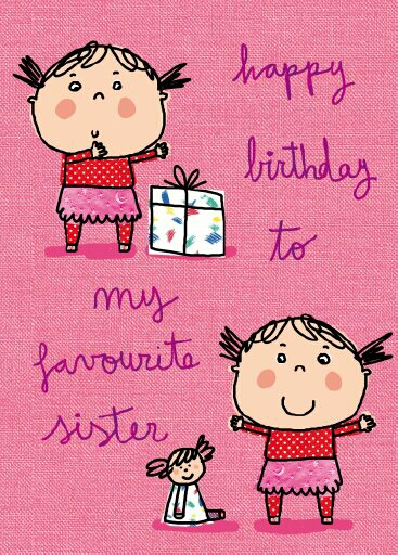 Happy birthday sister by angelamussart on deviantart
