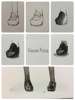 Tutorial about japanese girl school shoes