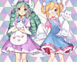 Miruku and Cutesu