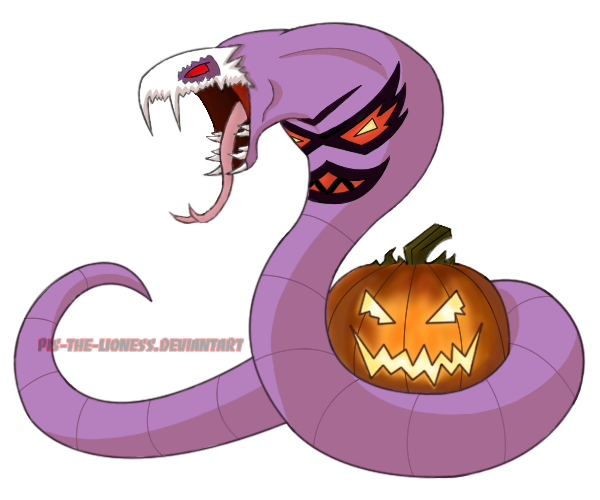 Halloween Arbok Adopted By BrownBlurry On DeviantArt