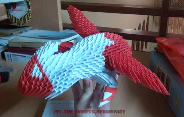 Origami Latias and Latios  Pokémemes  cheezburgercom