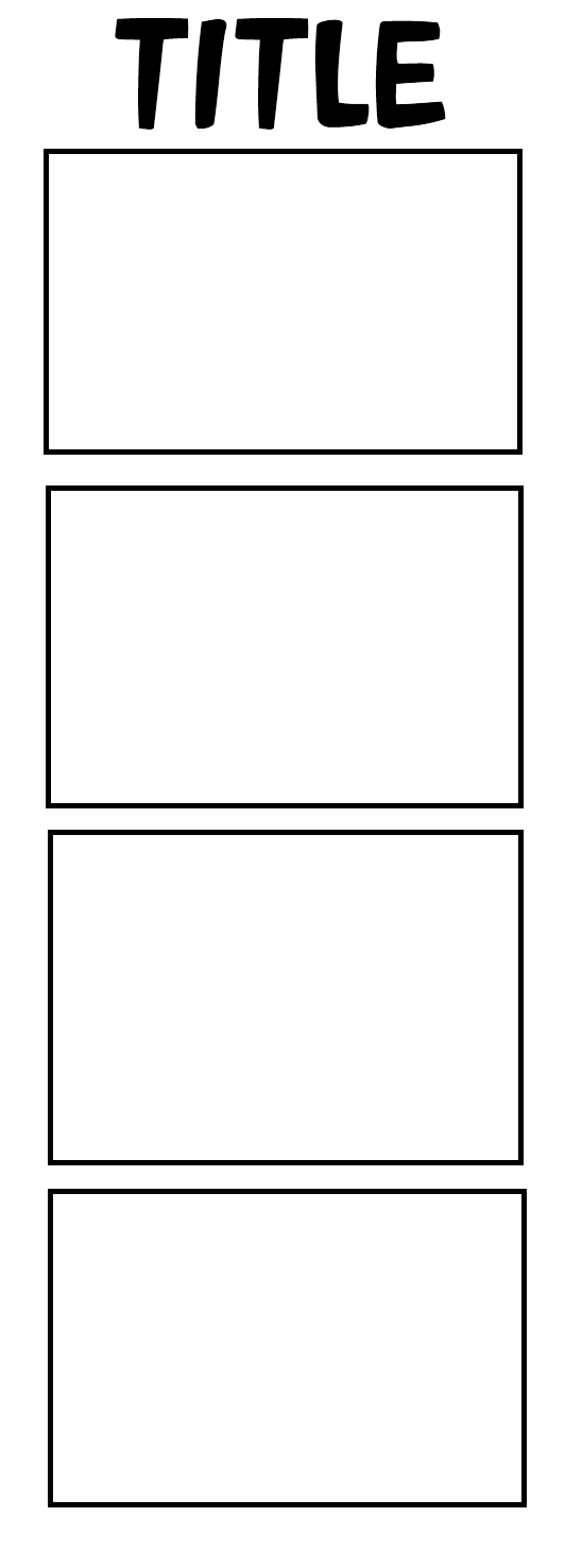 4panel comic strip template by echa1999 on deviantart for Four panel comic strip template