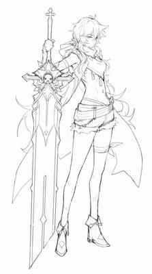 Razor sketch