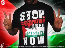 Stop Occupation Free Palestine by kachakou