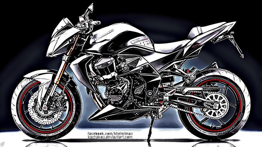 Kawasaki Z750 HDR By Kachakou