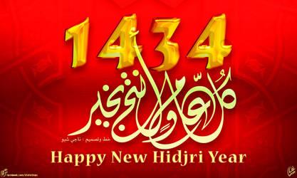 Happy new hidjri year 1434 by kachakou