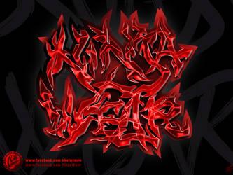 Ninja Wear Graff by kachakou