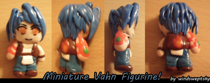 Miniature Vahn Figurine by rose-star