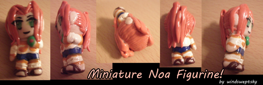 Miniature Noa Figurine by rose-star