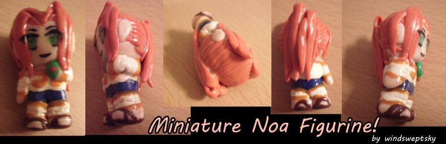 Miniature Noa Figurine by rose-star