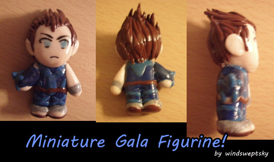 Miniature Gala Figurine by rose-star